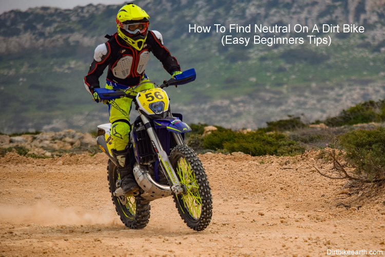 How to find neutral on a dirt bike Easy Beginners tips