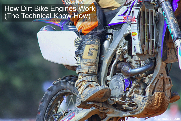How Dirt Bike Engines Work The Technical Know How