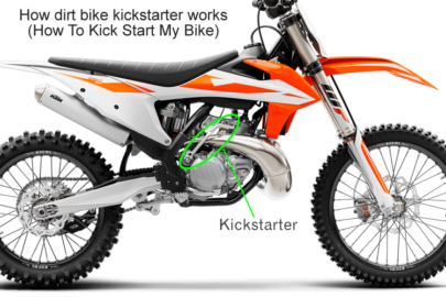 How A Dirt Bike Kickstarter Works (How To Kick Start My Bike)
