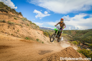 How much land do you need to build a motocross track? (On private property)