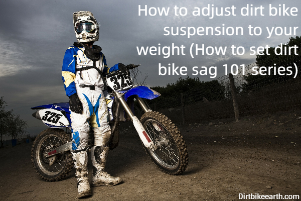 How to adjust dirt bike suspension to your weight - How to set dirt bike sag 101 series