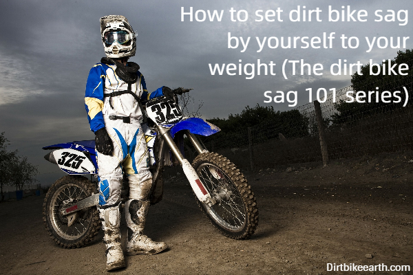 How to set dirt bike sag by yourself to your weight - The dirt bike sag 101 series