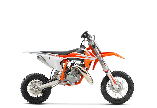 KTM 50 SX 2020 best dirt bike for 6 year olds 600 x 411